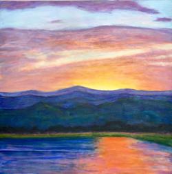 Baseline Lake Sunset
