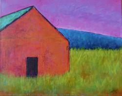 Rustic Orange Barn