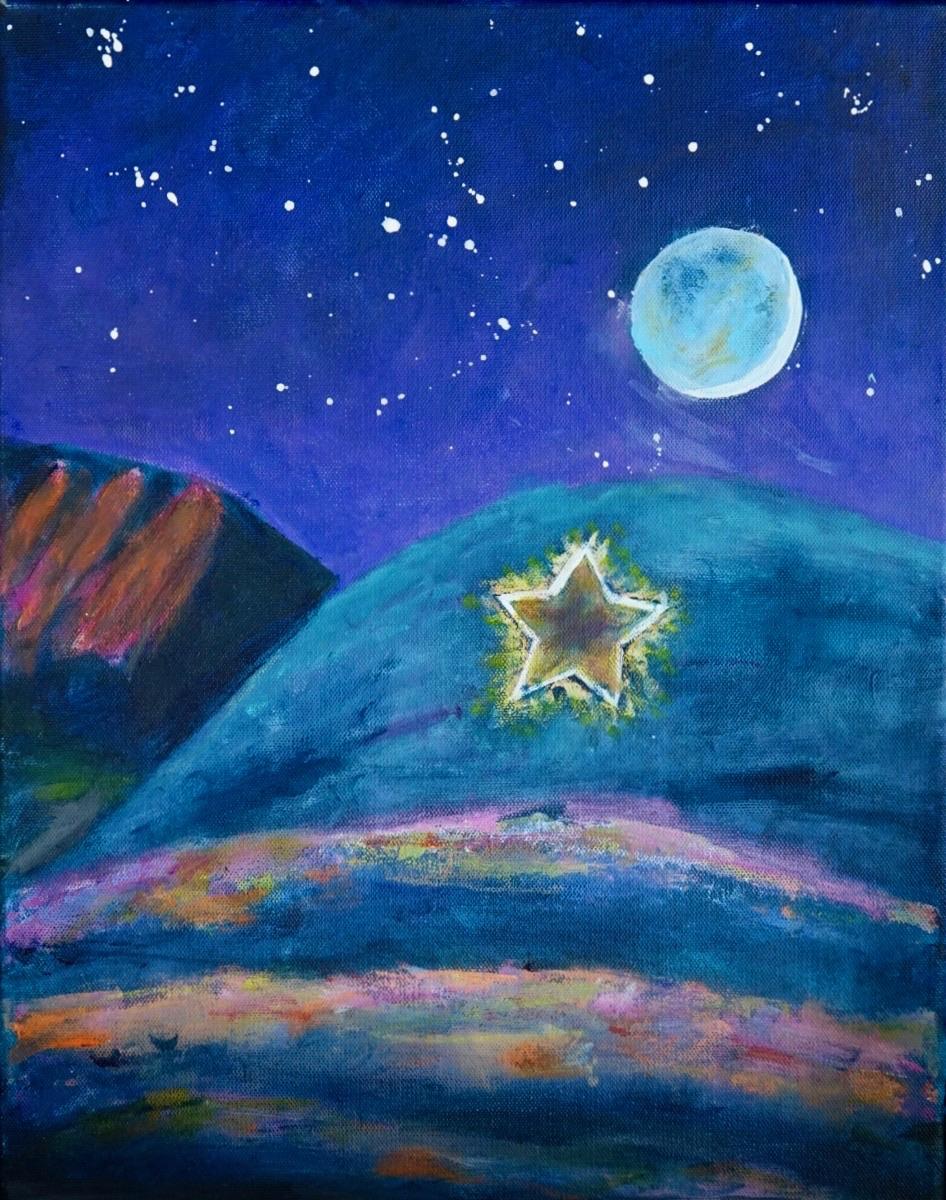 Boulder Star at Night