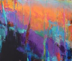 Vivid Landscape - Homage to Brian Rutenberg