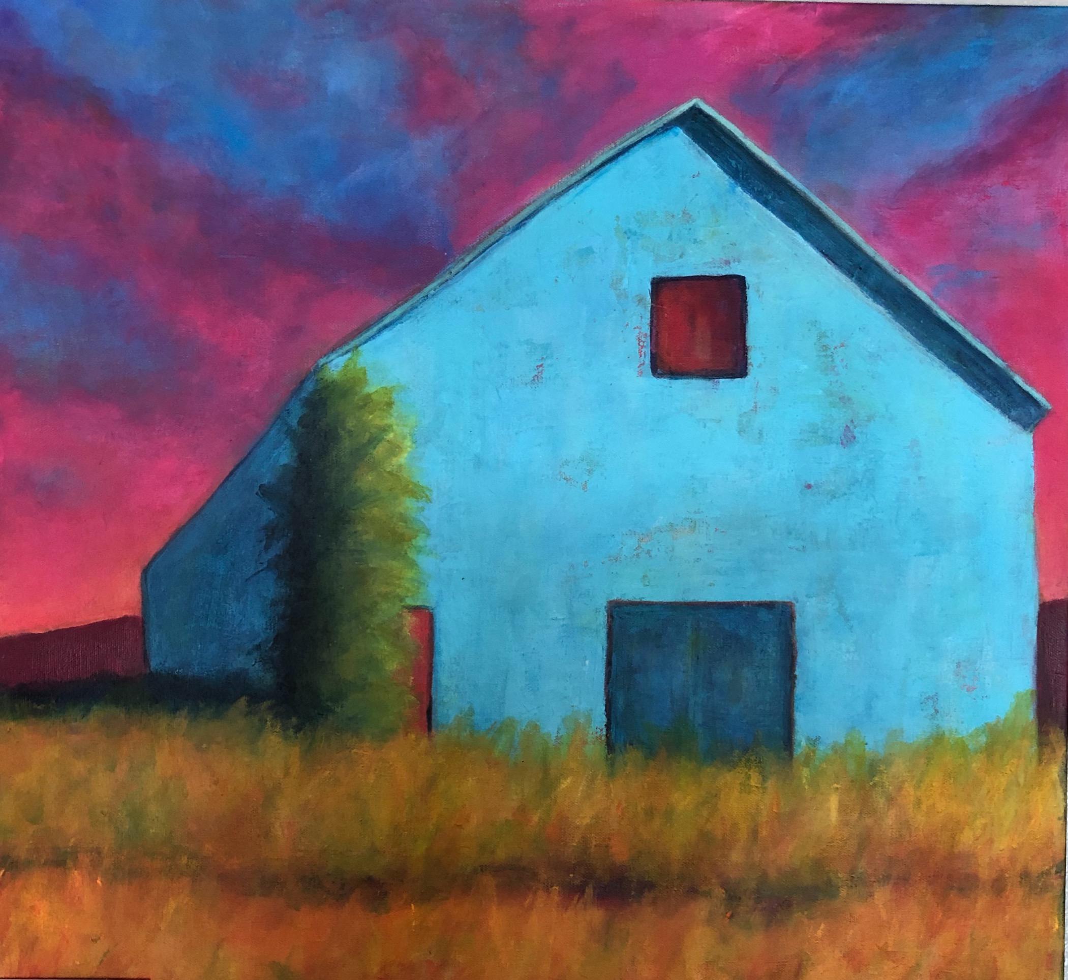 Blue Barn ~ Homage to Batchelder