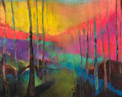 Abstract Landscape - Homage to Brian Rutenburg