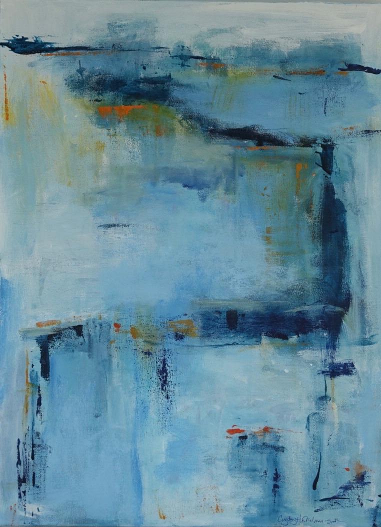 Misty Morning  18 x 24 Acrylic on Canvas