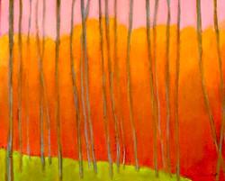 Landscape Homage to Wolf Kahn
