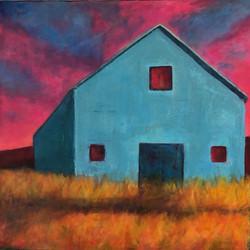 Blue Barn ~ Homage to Peter Batcheldor