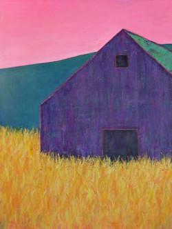 Majestic Purple Barn