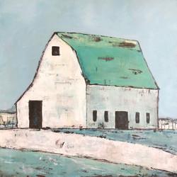 White Barn  -  (Homage to Ethan Harper)