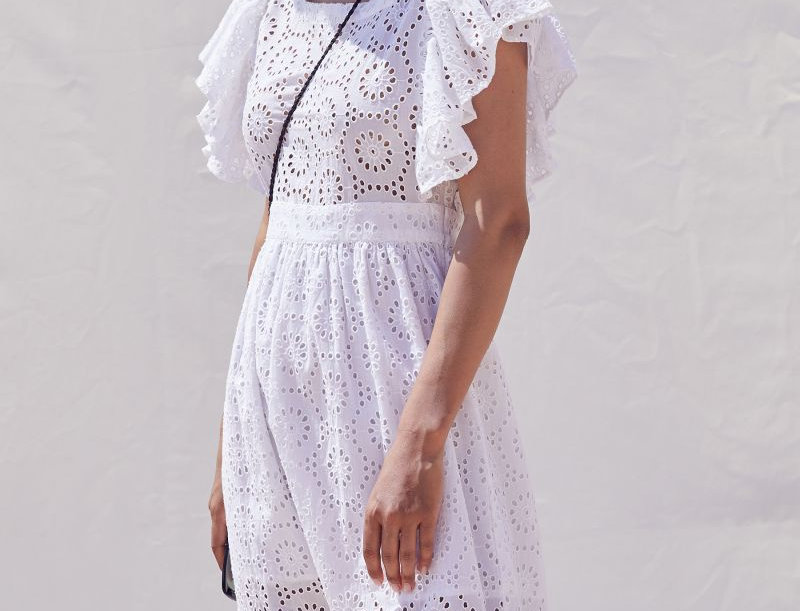 Mendy Embroidered Dress -NOTSHY