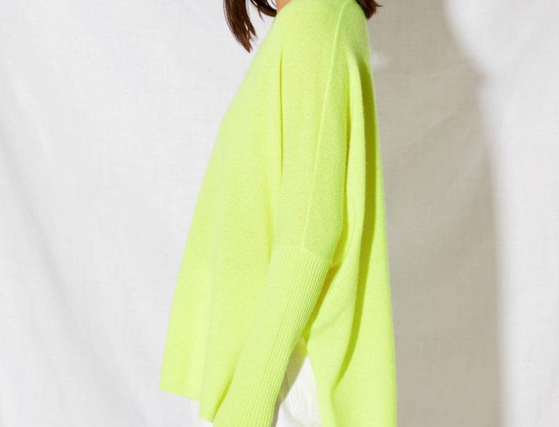 FAUSTINE Poncho Jumper -Notshy cashmere