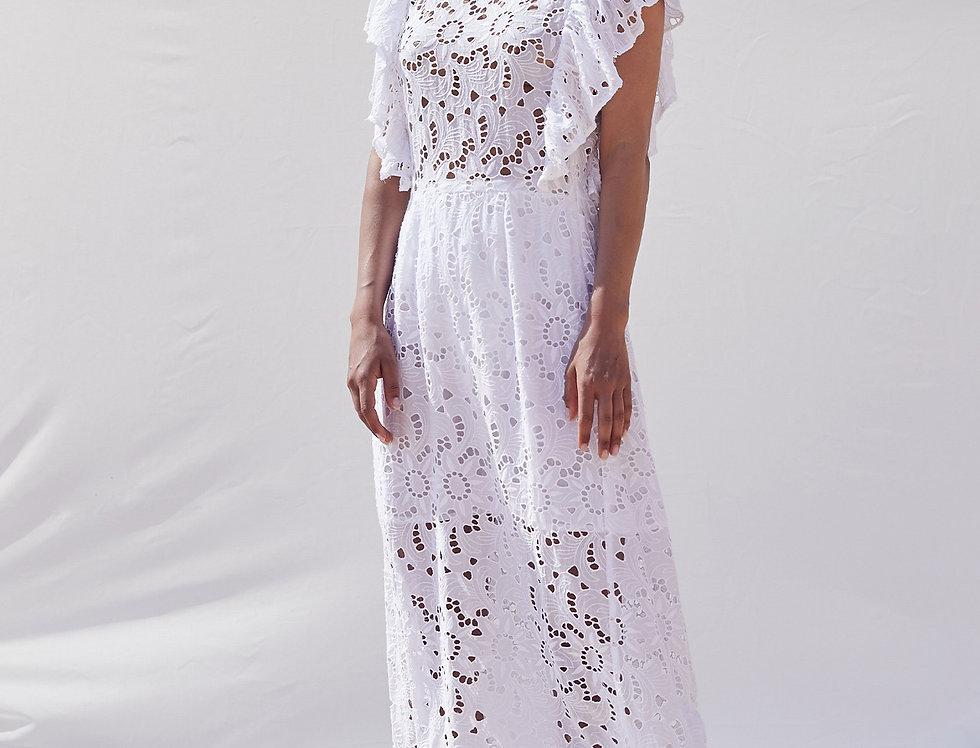 Aurora Embroidered Dress - NOTSHY