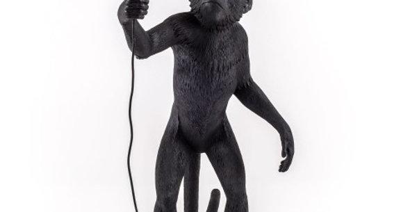 SELETTI THE MONKEY LAMP STANDING VERSION black