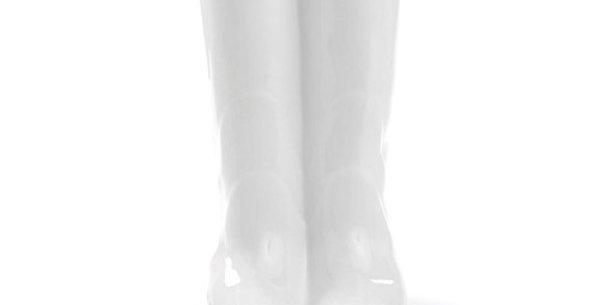 SELETTI 'RAINBOOTS' UMBRELLA STAND IN PORCELAIN Cm.20x27,5 h.36