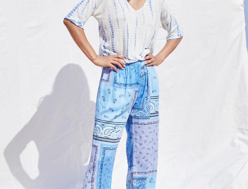 Aylin Paisley Pants -NOTSHY