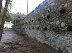 Stradbally Bridge Approach Walls