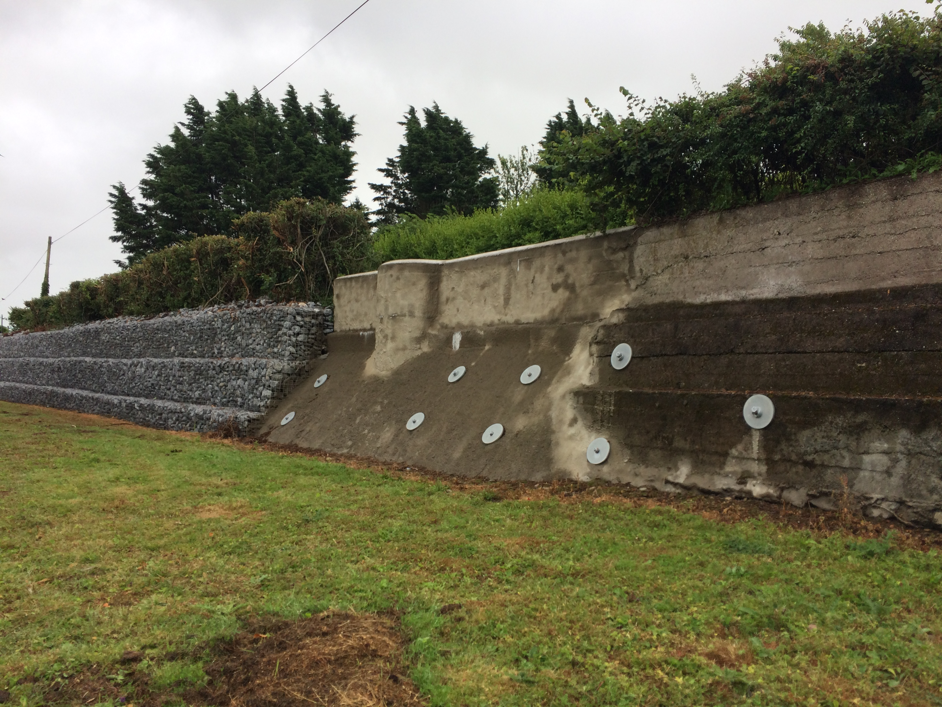 Scarriff Retaining Wall