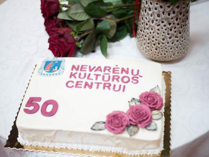 Nevarėnų kultūros centro auksinis jubiliejus 50m.