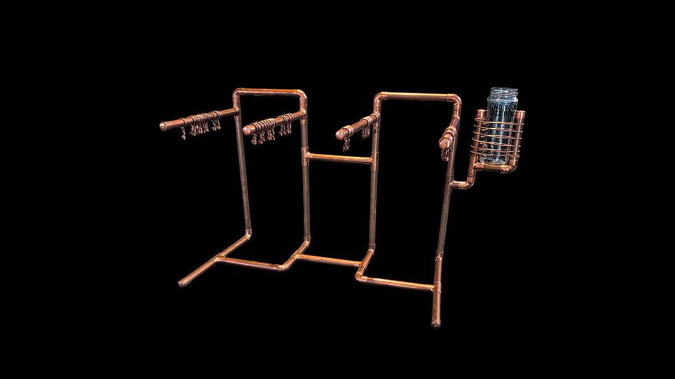 Copper Display Rack