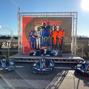 2 гонки и подиум на Lignano Circuit