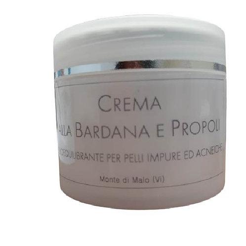 Crema viso alla Bardana e Propoli per pelli impure e acneiche