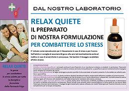 Relax Quiete per combattere lo stress
