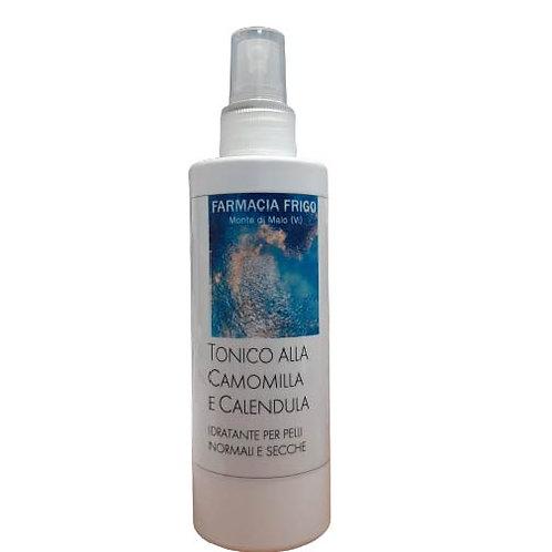Tonico alla Camomilla e Calendula idratante