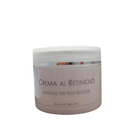 Crema al retinolo antiage per pelli secche