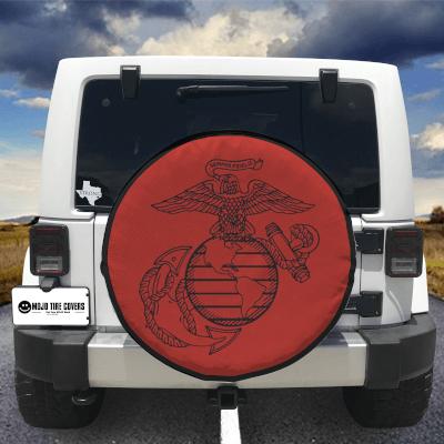MOJO Tire Cover - Semper Fidelis