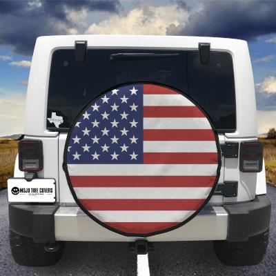 MOJO Tire Cover - USA Flag