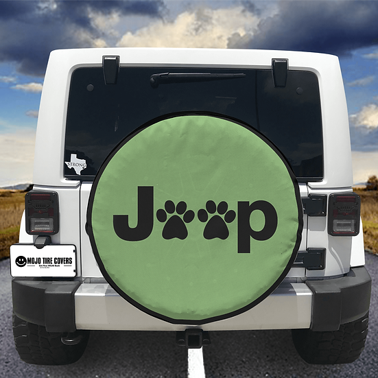 MOJO Tire Cover - Jeep Paw