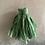 Thumbnail: Mint pistachio green Sari-silk earrings