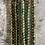 Thumbnail: Single wrap bracelets in shades of Green