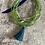 Thumbnail: Glass & Silver Bracelet Bundle (Green)