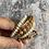 Thumbnail: Flower Jasper & Mother of Pearl wrap bracelet