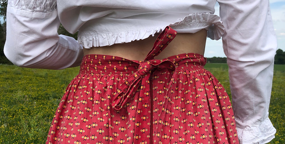 Rare French Prairie-Folk Skirt (1970's)