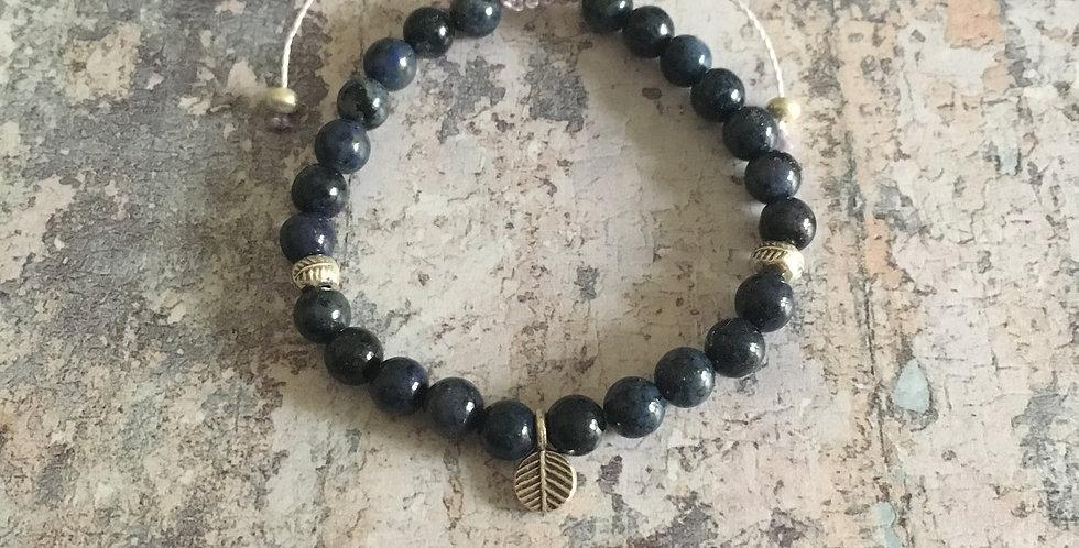Dumortierite Harmony bracelet