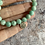 Thumbnail: Natural stone & Silver bracelets (coastal)