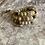 Thumbnail: Bamboo Agate triple wrap bracelet