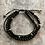 Thumbnail: Black Tourmaline Triple-Twist tie bracelet
