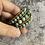 Thumbnail: Peruvian Chrysocolla Turquoise triple wrap bracelet