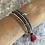 Thumbnail: Glass & Silver Bracelet Bundle (Lilac)