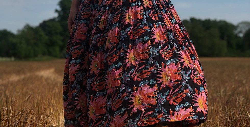 'Dahlia' print Anokhi Dress