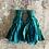 Thumbnail: Peacock blue Sari-silk earrings