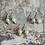 Thumbnail: Blue Topaz Artisan Pearl drops