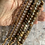 Thumbnail: Single Wrap bracelets in shades of Pink & Earth tones