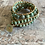 Thumbnail: Natural Turquoise triple wrap bracelet