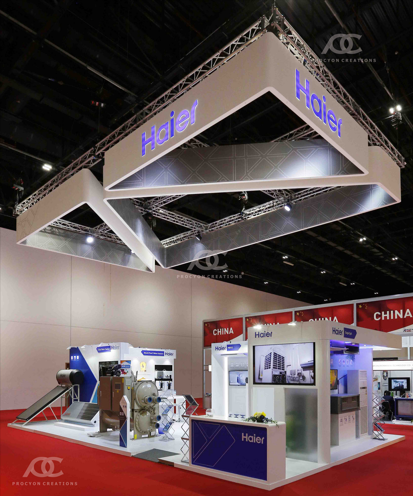 Exhibition Stand Builders Oman : Best exhibition stand design companies in qatar procyon creations
