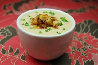 Simple Sweet White Corn Soup