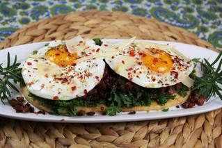 Rosemary-Pancetta Breakfast Flatbread