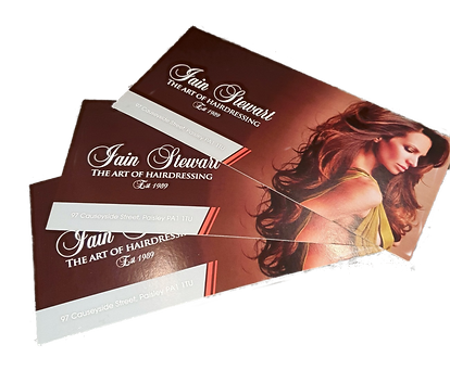 Gift Vouchers Tab