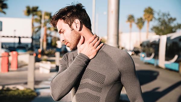 Nackenschmerzen durch falsche Belastung